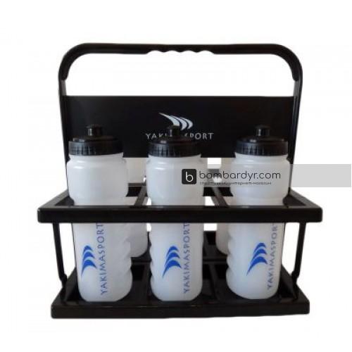 Спортивный контейнер для бутылок Yakimasport в комплекте 6 шт. 100122
