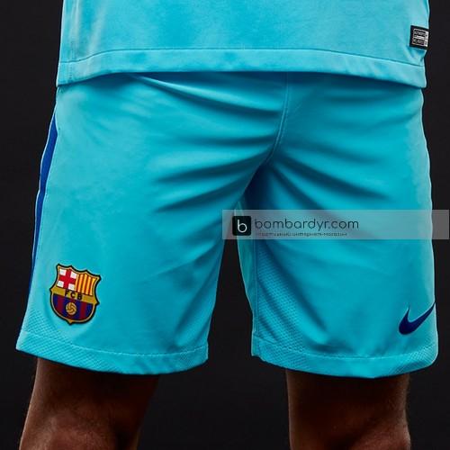 Шорты Nike FC Barcelona 17-18 Away Stadium Replica