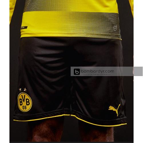 Шорты Puma Borussia Dortmund 17/18 Replica Home Short