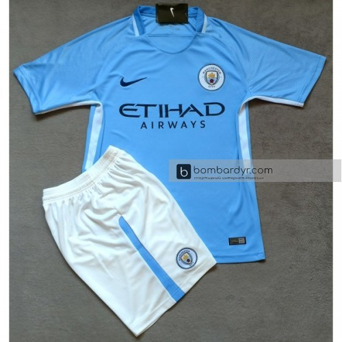 Шорты Nike Manchester City 17/18 Home Replica