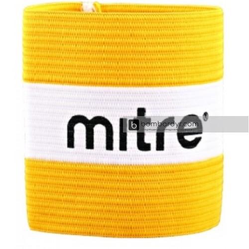 Повязка капитана, желтая Mitre А4029AYB1