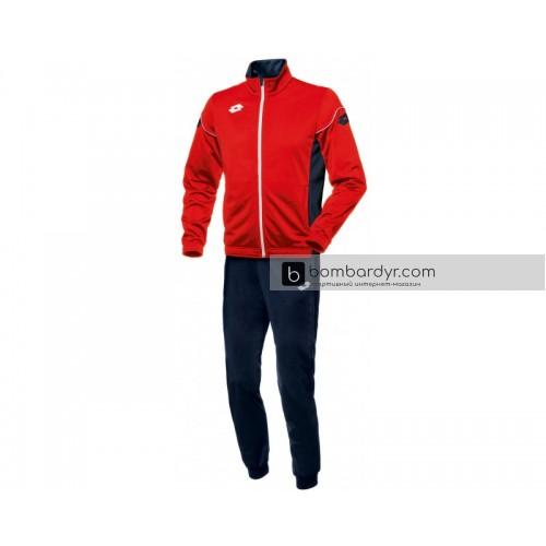 Детский спортивный костюм Lotto SUIT STARS EVO PL RIB JR R9760