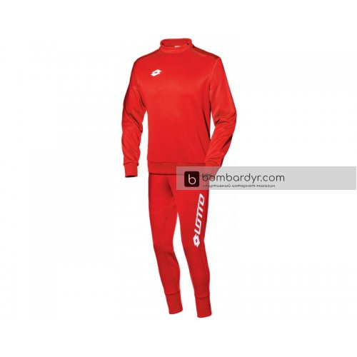 Мужской спортивный костюм Lotto SUIT ZENITH EVO HZ RIB S3720