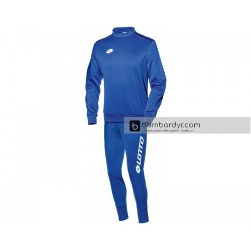 Детский спортивный костюм Lotto SUIT ZENITH EVO HZ RIB JR S3750