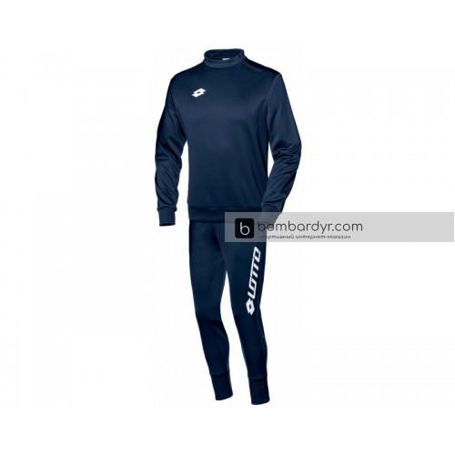 Детский спортивный костюм Lotto SUIT ZENITH EVO HZ RIB JR S3751