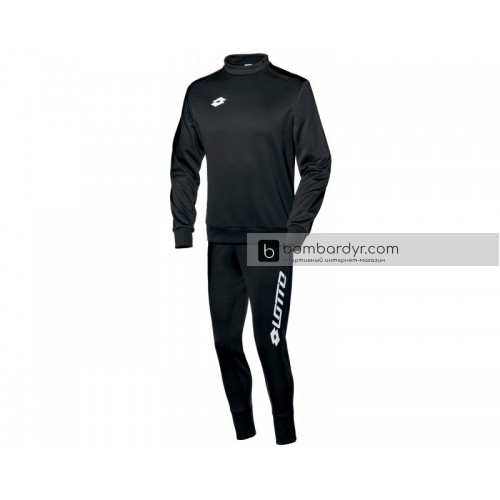 Мужской спортивный костюм Lotto SUIT ZENITH EVO HZ RIB S3723