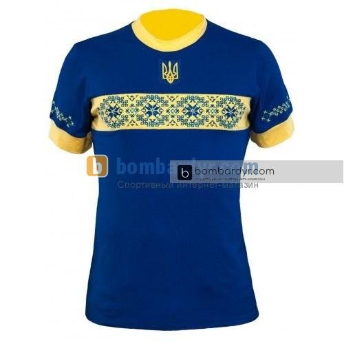 Футбольная вышиванка сборной Украины