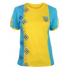 Женская футболка с вышивкой За Украину