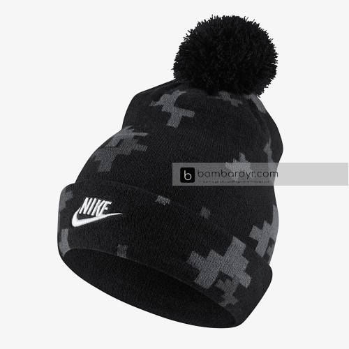 Шапка Nike U NK SEASONAL BEANIE BLUE