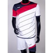 футбольная форма 008 бело-красная EUROPAW