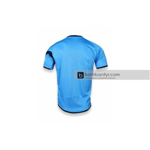 Футбольная форма 003 берюзово-т.синяя EUROPAW