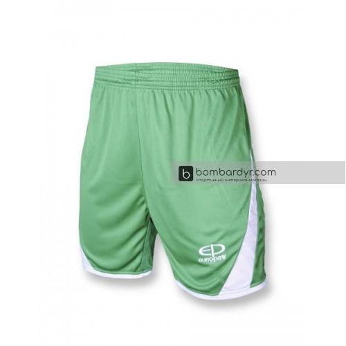 Футбольная форма 001 бело-зеленая EUROPAW 1677