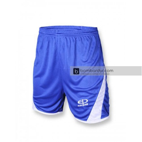 Футбольная форма 001 сине-белая EUROPAW