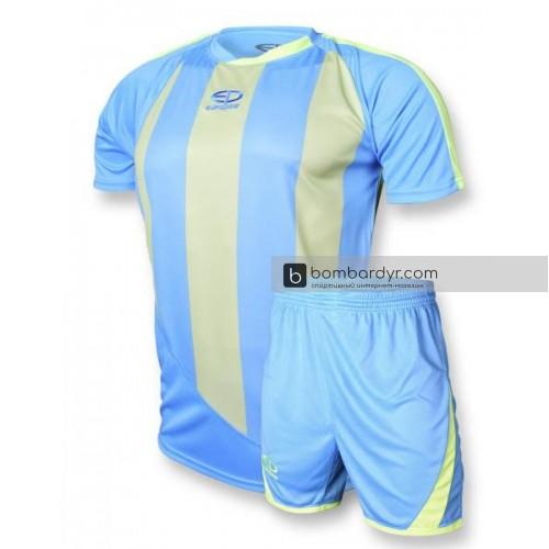 Футбольная форма 001 бирюзово - салатовая EUROPAW 53