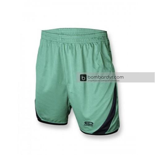 Футбольная форма 001 зелено - черная EUROPAW