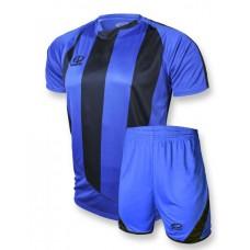 Футбольная форма 001 сине-черная EUROPAW