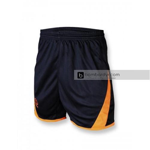 Футбольная форма 002 оранжево-черная EUROPAW