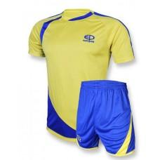 Футбольная форма 002 желто-синяя EUROPAW