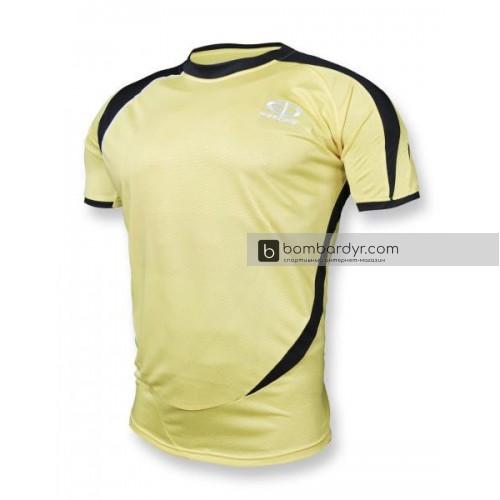 Футбольная форма 003 желто-черная EUROPAW