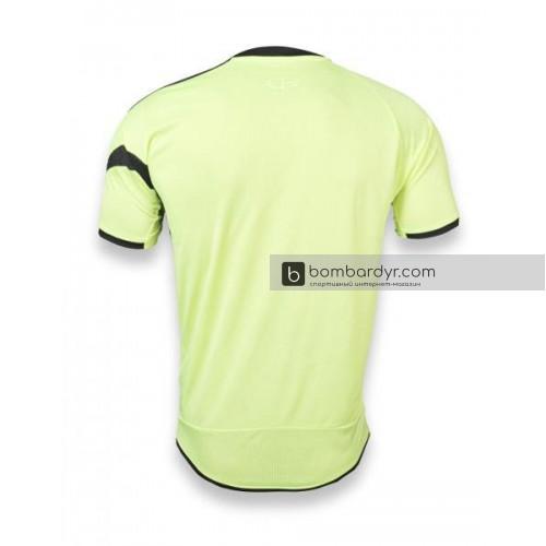 Футбольная форма 003 салатово-черная EUROPAW