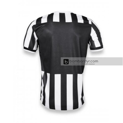 """Футбольная форма """"CLUB"""" 006 черно-белая"""