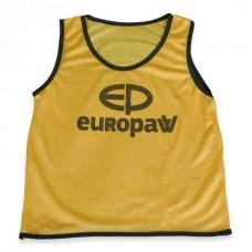 Манишка Europaw logo детская желтая 467