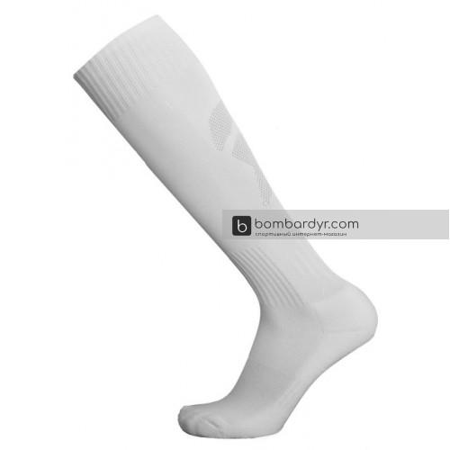Гетры Europaw CTM-011 белые подростковые с трикотажным носком