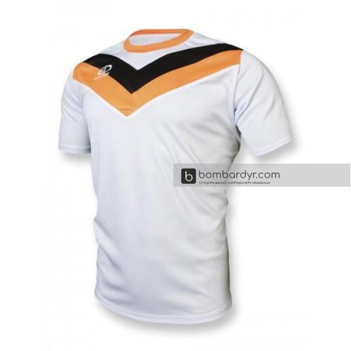 Футбольная форма 004 бело-оранжевая EUROPAW
