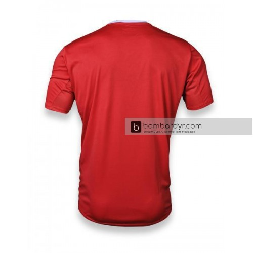 Футбольная форма 004 красно-черная EUROPAW