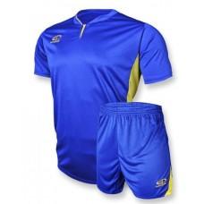 Футбольная форма 005 сине-желтая EUROPAW