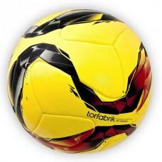 Мяч футбольный Europaw Torfabrik желтый клееный