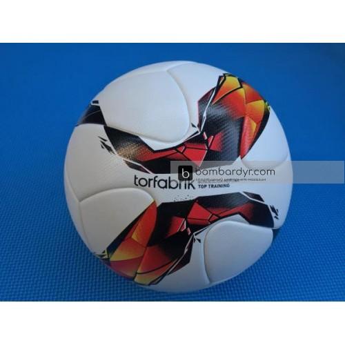 Мяч футбольный Europaw Torfabrik белый клеенный