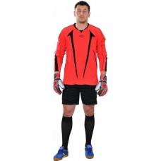 Вратарская форма (кофта и шорты)  оранжево - черная EUROPAW