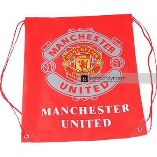 Сумка - рюкзак синтетический клубный Manchester-United-2 Europaw 1287