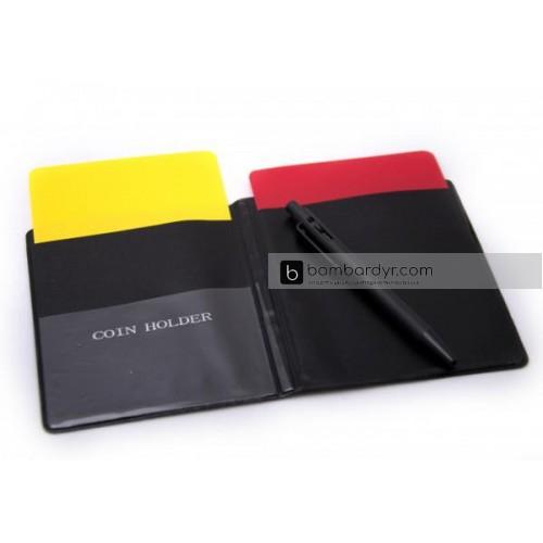 судейская карточка в чехле EUROPAW