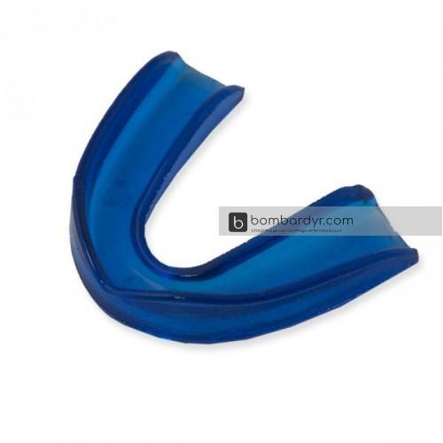 Капа одинарная силикон синяя EUROPAW