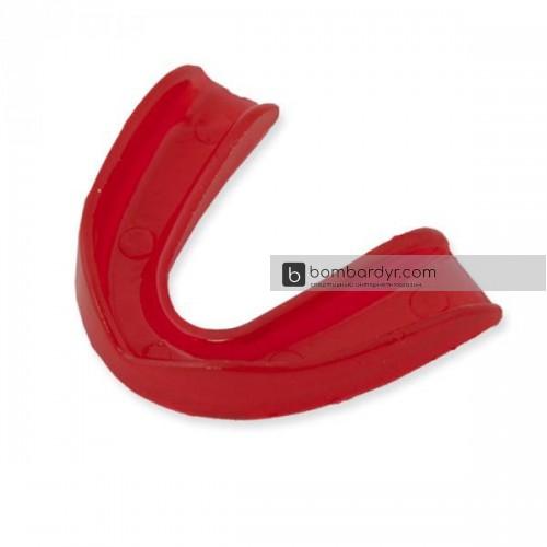 Капа одинарная силикон красная EUROPAW