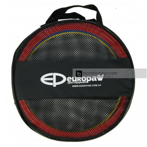 Кольца тренировочные Europaw (комплект 12 шт, 3 цвета, 40см) + сумка 2423