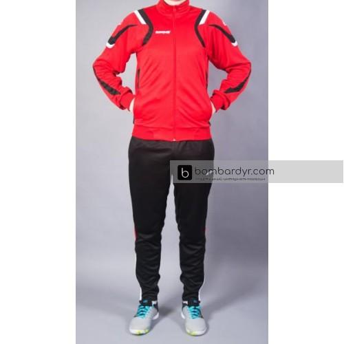 Костюм тренировочный Europaw SEL красно-черный