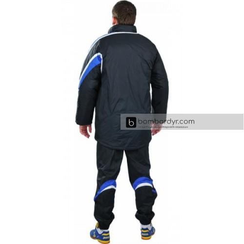 Куртка зимняя черно - синяя EUROPAW