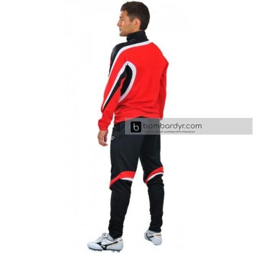 Костюм тренировочный Europaw 2010 красно-черный
