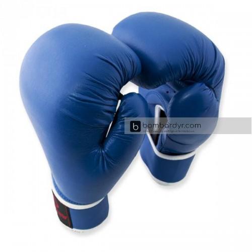 Перчатки для бокса  синие EUROPAW