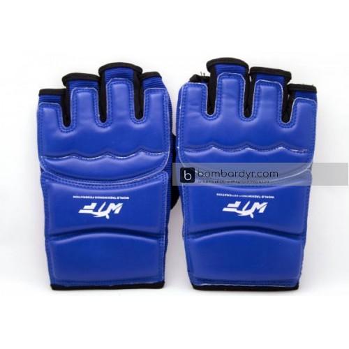 Перчатки для тхэквондо синие EUROPAW