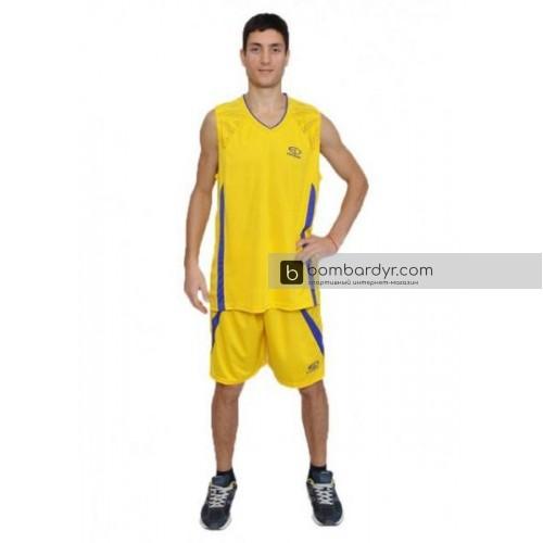 Баскетбольная форма желтая EUROPAW