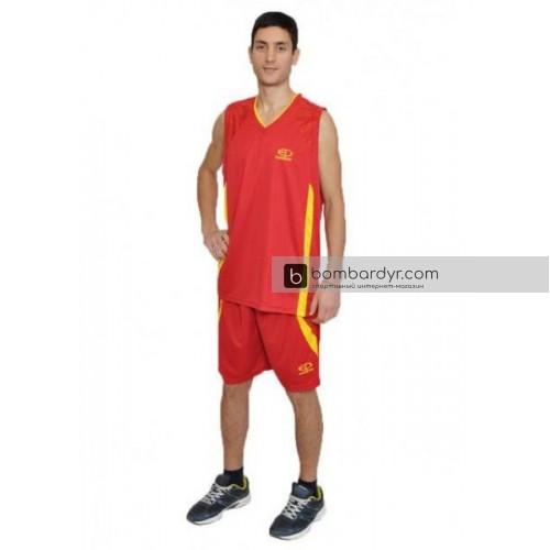 Баскетбольная форма красная EUROPAW