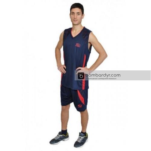 Баскетбольная форма темно-синяя EUROPAW
