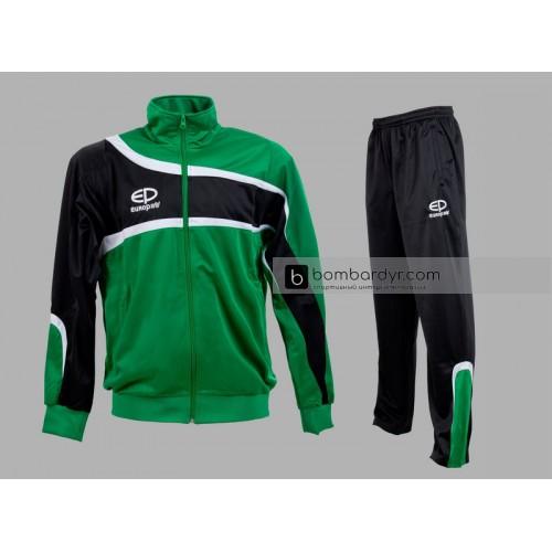 Костюм парадный Europaw TeamLine зелено-черный