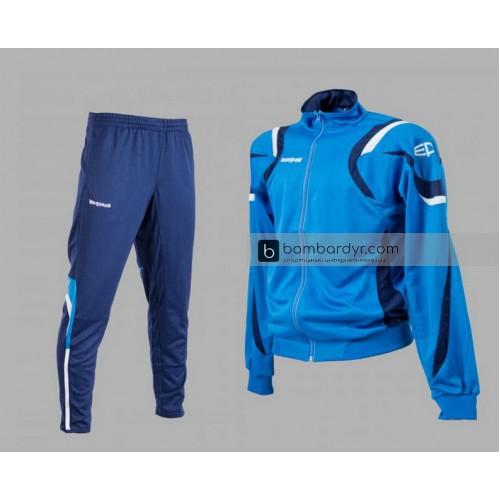 Костюм тренировочный Europaw SEL синий-т.синий