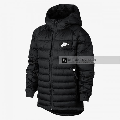 Куртка NIKE B NSW JKT HD DWN FILL GUILD550 856080-010