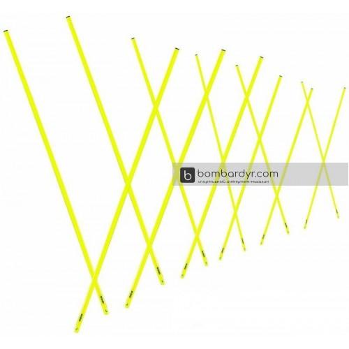 Набор телескопических шестов для тренировок 12шт 89-170 см_MITRE